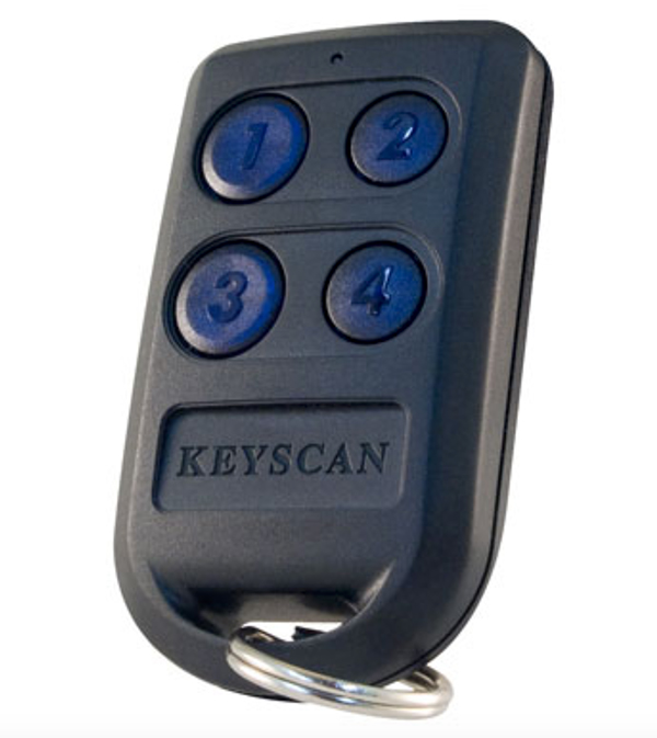 Keyscan 4 Button Key Fob - VDC Vandelta