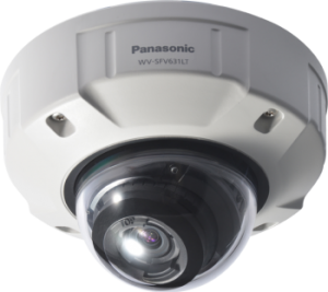 Panasonic Network Static Dome Security Cameras WV-SFV631LT - VDC Vandelta