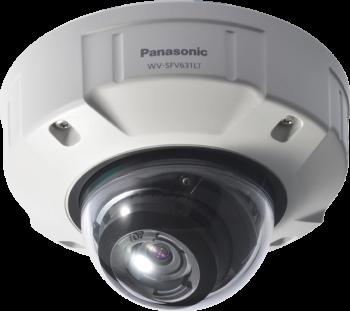 Panasonic Network Static Dome Security Cameras WV-SFV631LT - VDC Vandelta