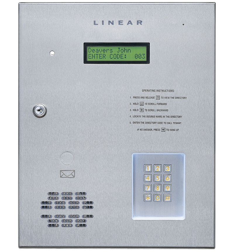 Linear Intercom - VDC Vandelta